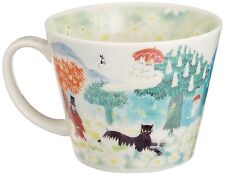 Moomin The Story of Moomin Valley Soup Mug Coffee Cup 400ml Made in Japan