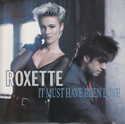 ROXETTE It Must Have Been Love PICTURE SLEEVE 45 record + juke box title strip