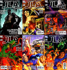 JLA: CLASSIFIED #10-15 (DC COMICS) NEW MAPS OF HELL - COMPLETE STORY