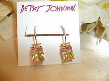 Betsey Johnson Marie Antoinette Watermelon Drop Earrings NWT $35