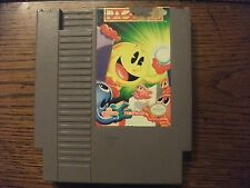 Pac-Man (Nintendo Entertainment System) HTF Grey Namco Cart not Tengen Working