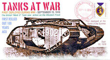 COVERSCAPE computer designed 100th anniversary 1st Tanks in warfare event cover