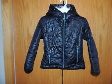 Girls Pacific Trail Black Blue Jacket Size S 5
