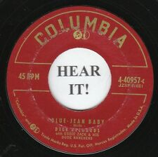 Dick Richards C&W TEEN 45 (Columbia 40957) Blue Jean Baby/We've Got A Right To