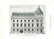 1904 Chamber Of Commerce Roanne