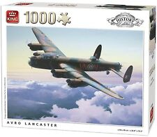 1000 Piece History Collection Jigsaw Puzzle - AVRO LANCASTER Bomber Plane 05396