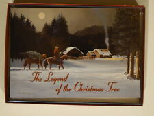 Leanin' Tree The Legend of the Christmas Tree Horse Christmas Note Cards Box 10