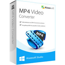 MP4 Converter Windows Aiseesoft dt.Vollversion Download