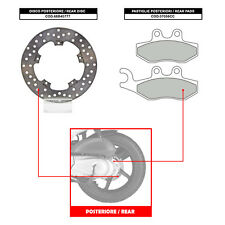 BREMBO REAR DISC (+ BRAKE PADS) - GILERA NEXUS 300 (08-11) - 68B40777