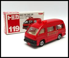 TOMICA #119 TOYOTA HIACE FIRE CHIEF CAR VAN 1/66 TOMY NEW DIECAST CAR
