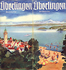 Prospectus-Tourisme : UBERLINGEN - BODENSEE. Travel Ephemera. 1938