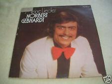 NORBERT GEBHARDT DDR AMIGA LP: MEINE LIEDER 855760 Schallplatte Vinyl