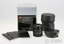 LEICA SUMMICRON-M 1:2.0/28MM ASPH. S/N 4075688 IN BOX // GREAT SPECIAL PRICE !!!