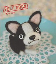 LIVRE FELT DOGS Mitsuki Hoshi comment fabriquer peluches chien