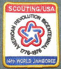 1975 14th XIV World Jamboree USA BSA Contingent Pocket Patch MINT! Jambo Jam WJ