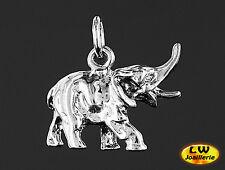 Pendentif  ELEPHANT en 3D - Pendant 3D ELEPHANT