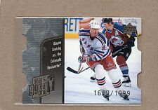 wayne gretzky new york rangers ud 1998/99 year of the great one 8 quantum