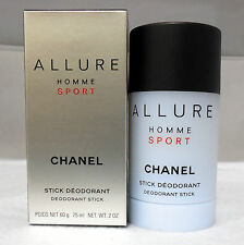 CHANEL ALLURE HOMME SPORT DEODORANT STICK 75 ML/2.0 OZ.