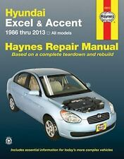 Hundai Excel & Accent 1986 thru 2013: All Models (Haynes Repair Manual), Editors
