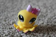Littlest Pet Shop Yellow Octopus #1146 LPS Girls Toy Ocean Animal Purple Eyes