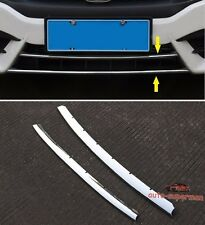 S/Steel Front Bumper Grille Vent Cover Chrome Trim for Honda Civic 2016 2017