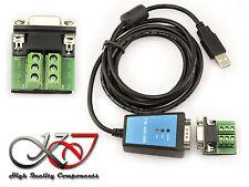 Convertisseur USB RS485 et RS422 + Plaque - 1.8M - FTDI - ANTIPARASITE