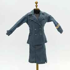"""WWII Germany  Female Uniform For 1/6 Scale 12"""" Action Figure 1:6 Phicen Toy"""