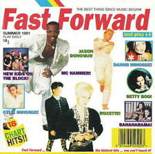 FAST FORWARD - KYLIE MINOGUE / JASON DONOVAN / BOMBALURINA ETC.- CD