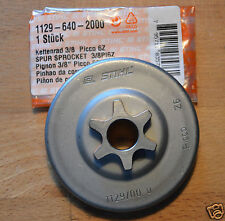 "Genuine Stihl CILINDRICI RUOTA DENTATA MS200T 020T 1129 640 2000 3/8 ""P 6T tracciate POST"