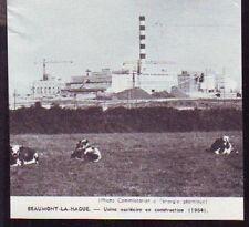 1966  -- BEAUMONT LA HAGUE  USINE NUCLEAIRE EN CONSTRUCTION  1964  S974