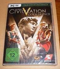 PC Game Juego-Civilization V 5-Ilse + kings-ampliación Pack-nuevo embalaje original