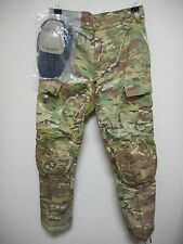 US ARMY MULTICAM ADVANCED COMBAT PANT, MEDIUM SHORT, NWOT, W/CRYE KNEE PADS