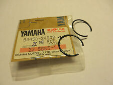 Yamaha Pistone Snap ring MT01 XT550 XTZ660 XV1100 XT600 SRX600 XV1600 TT600RE