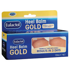Scholl Eulactol Foot Heel Balm Gold 120ml - Rough Dry or Cracked Skin
