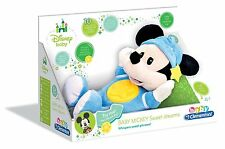 BRAND NEW DISNEY BABY MICKEY MOUSE SWEET DREAMS MUSICAL LULLABY SOFT TOY BOXED