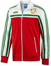 MEDIUM adidas Originals Men's MEXICO Firebird Track Top Jacket  White Green Red