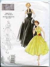 Vintage Vogue REPRO 1957 Evening Gown OOP Sewing Pattern - Sizes 4-6-8-10
