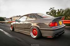 """""""Fitment Lab"""" Overfenders Wide Body kit for BMW E36 Coupe (not a felony form)"""