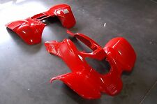 HONDA TRX 400EX 99 - 04 FIGHTING RED FRONT AND REAR FENDER SET TRX400EX
