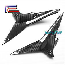RC Carbon Fiber Fuel Tank Side Panels Aprilia RSV4 RR RF Factory R APRC ABS SE