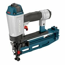 NEW BOSCH Slim Strip Straight 16 Gauge Finish Air Nailer with Case! Nail Gun