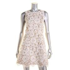 Alice + Olivia 5331 Womens Beige Lace Party Cocktail Dress 2 BHFO
