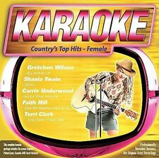 COUNTRY'S TOP HITS - FEMALE (Country Karaoke) CD+G [B34]