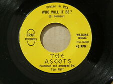 "ASCOTS SO GOOD FRAT orig US G45 GARAGE PUNK 7"" 45 NM HEAR"