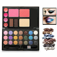 Eyeshadow Makeup Kit Rich Color Palette Lip Gloss Foundation Powder Blusher Set