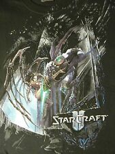 StarCraft II New 2X T Shirt Black Video Game Graphic Tee 2XL Star Craft 2 NWOT