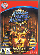 Amazing Adventures: The Lost Tomb (PC, 2008, Pop Cap)