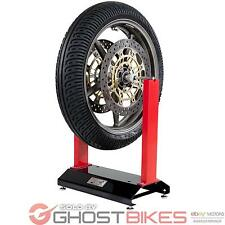 Black Pro Range Lightweight Motorcycle Motorbike Bike Wheel Balancer Ghostbikes