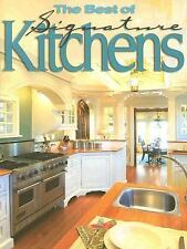 The Best of Signature Kitchens-ExLibrary