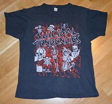 RaRe *1980's SUICIDAL TENDENCIES* vtg concert tour shirt (L) ST Thrash Punk Rock